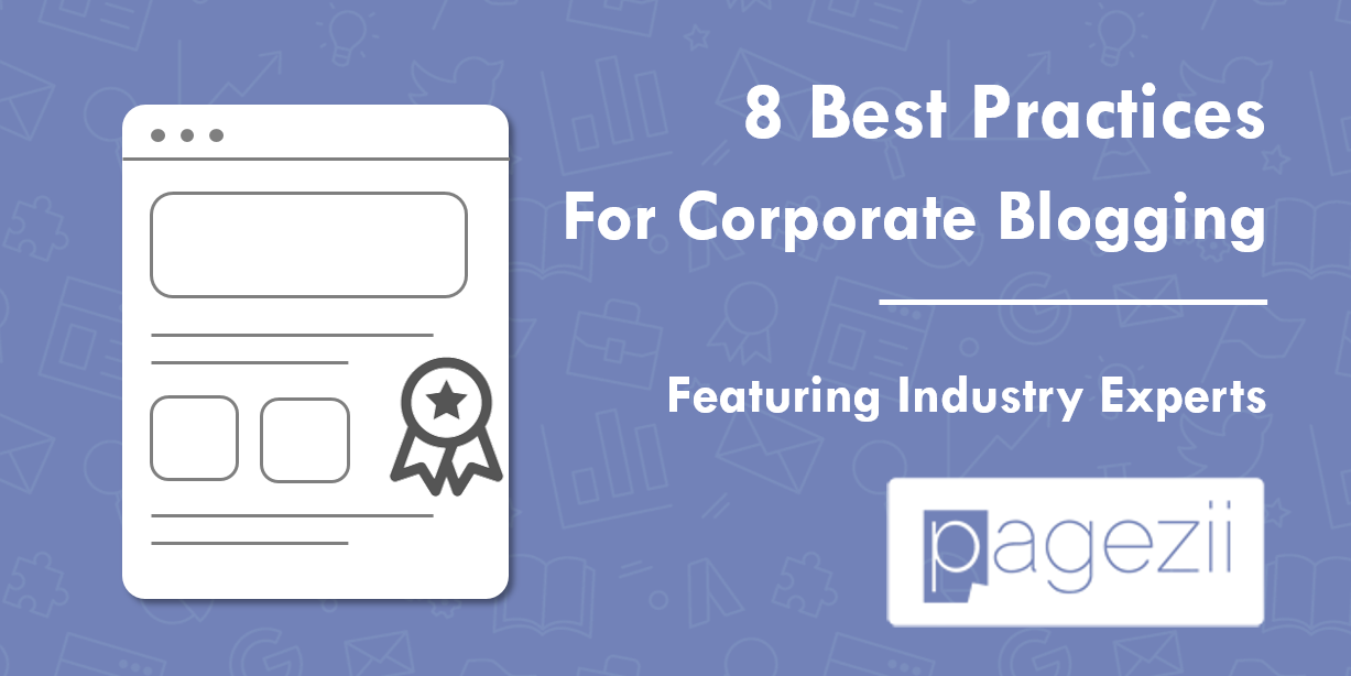 Corporate Blogging Best Practices Checklist Share Image