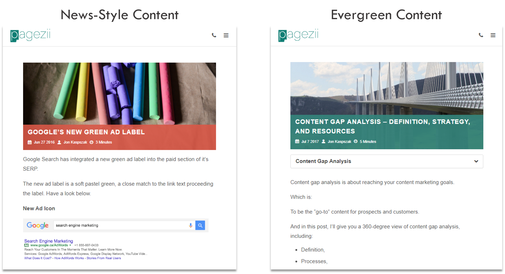 Updating Content Corporate Blogging Best Practices Evergreen Content vs News Style Content