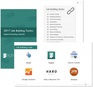 how do backlinks help seo 2017 Link Building Tactics Checklist Preview Image