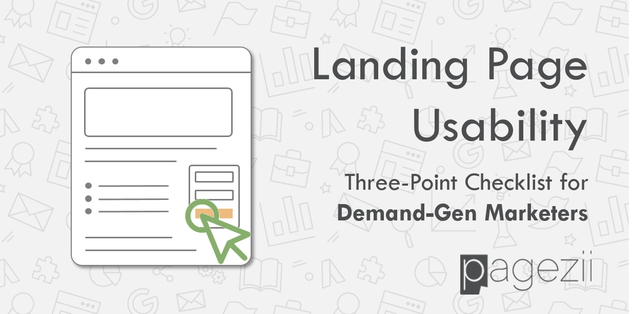 Landing Page Usability Share Image