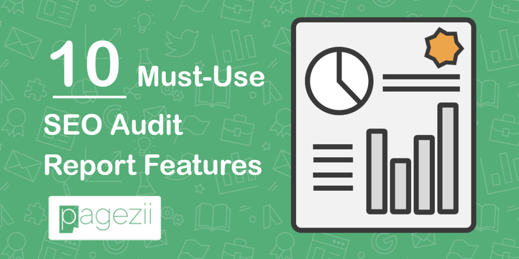 New SEO Audit Report Features Pagezii