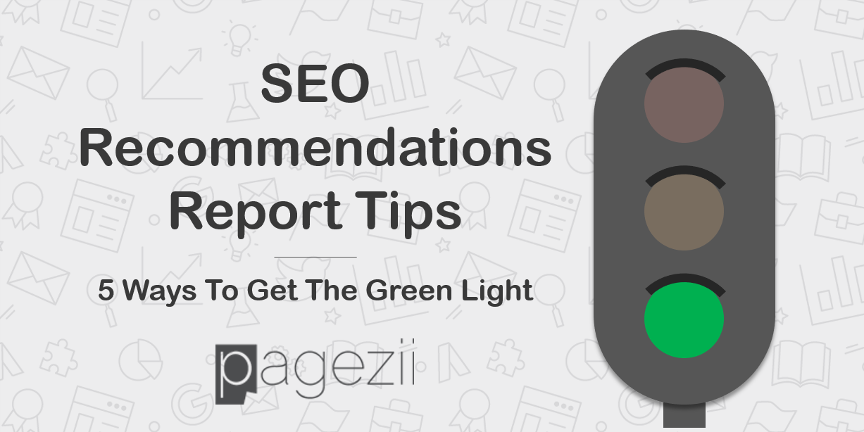 SEO Recommendations Report Tips Share Image