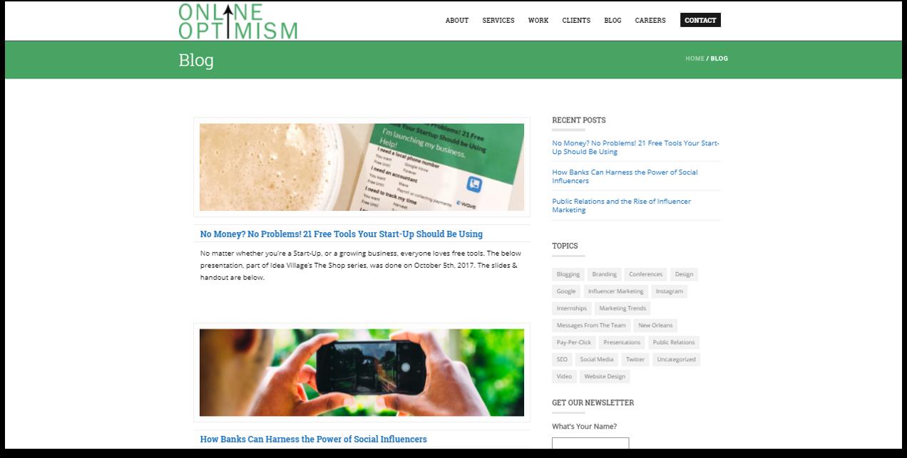 online-optimism
